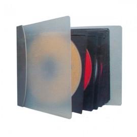 Pochette/Classeur de rangement TEKUNI pour 28 CD/DVD/BLU-RAY Storage Dj Pro NEUF