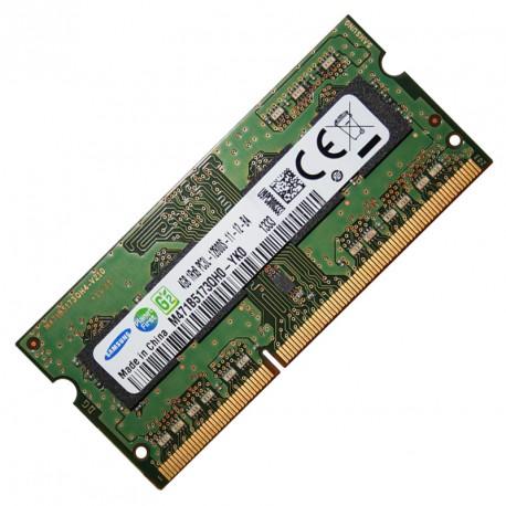 4Go RAM SoDIMM Samsung M471B5173QH0-YK0 PC3L-12800S 1600MHz DDR3 1Rx8 691740-001