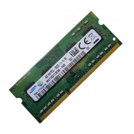 4Go RAM SoDIMM Samsung M471B5173EB0-YK0 PC3L-12800S 1600MHz DDR3 1Rx8 691740-001