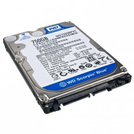 "Disque Dur 750Go SATA 2.5"" WESTERN DIGITAL Scorpio Blue WD7500BPVT PC Portable"