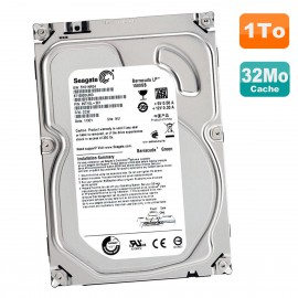 Disque Dur 1.5To SATA 3.5 Seagate Barracuda ST1500DL003 9VT16L-301 5900RPM 64Mo