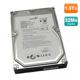 Disque Dur 1.5To SATA 3.5 Seagate Barracuda ST31500341AS 9JU138-336 9JU136-034