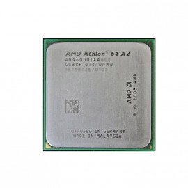 Processeur CPU AMD Athlon 64 X2 6000+ 3GHz 2x 512Ko L2 ADV6000IAA5DO Socket AM2