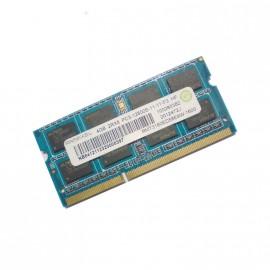 4Go RAM PC Portable SODIMM DDR3 PC3-12800S Ramaxel RMT3160ED58E9W CL11