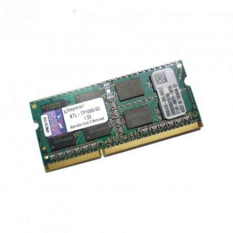 4Go RAM PC Portable SODIMM DDR3 PC3-8500S Kingston KTL-TP1066-4G CL7