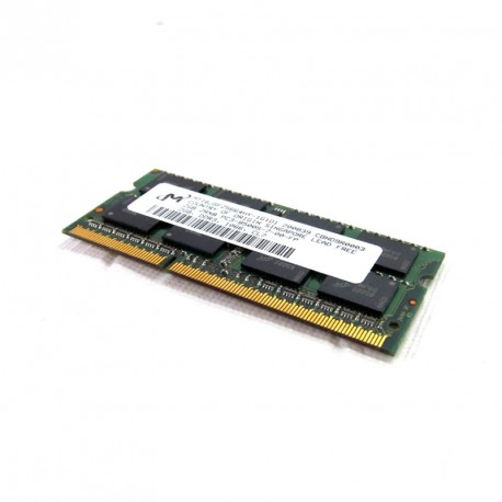 2Go RAM PC Portable SODIMM DDR3 PC3-8500S Micron MT16JSF25664HY-1G1D1 CL7