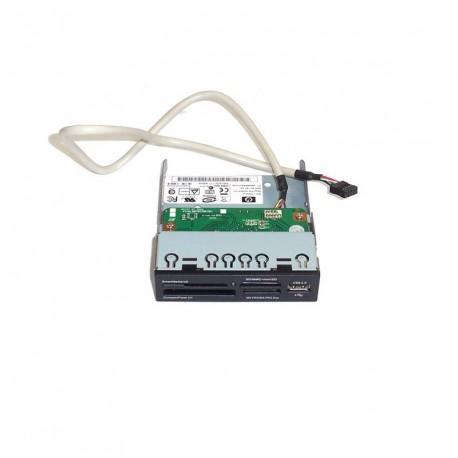 Lecteur de carte mémoire interne HP CR504U2 façade 3,5 pouces Card Reader SDHC