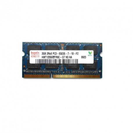 2Go RAM PC Portable SODIMM Hynix HMT125S6TFR8C-G7 DDR3 PC3-8500S 1066MHz CL7