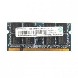 2Go RAM PC Portable SODIMM Ramaxel RMN1740EF48D8W DDR2 PC2-6400S 800MHz CL6