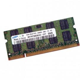 2Go RAM PC Portable SODIMM SAMSUNG M470T5663EH3-CF7 DDR2 PC2-6400S 800MHz CL6
