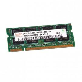 2Go RAM PC Portable SODIMM HYNIX HYMP125S64CP8-S6 AB-C DDR2 PC2-6400S 800MHz CL6