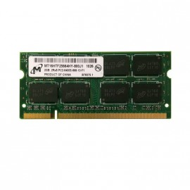 2Go RAM PC Portable SODIMM MICRON MT16HTF25664HY-800J1 DDR2 PC2-6400S 800MHz CL6