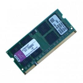 2Go RAM PC Portable SODIMM KINGSTON KTH-ZD8000C6-2G DDR2 PC2-6400S 800MHz
