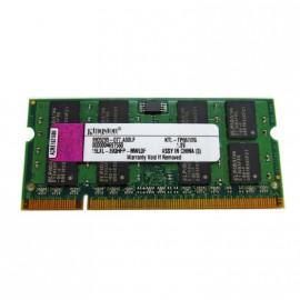 2Go RAM PC Portable SODIMM KINGSTON KTL-TP667-2G DDR2 PC2-5300S 667MHz