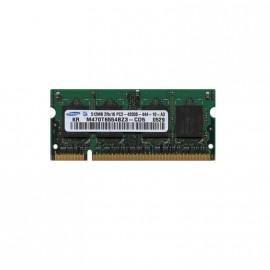 512Mo RAM PC Portable SODIMM SAMSUNG M470T6554EZ3-CD5 DDR2 PC2-4200S 533MHz CL4