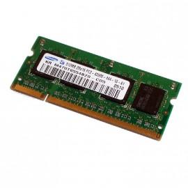 512Mo RAM PC Portable SODIMM SAMSUNG M470T6554BZ0-CD5 DDR2 PC2-4200S 533MHz CL4
