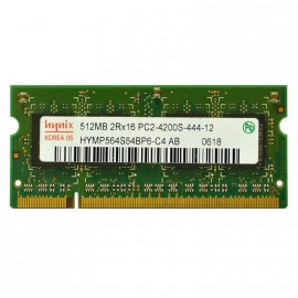 512Mo RAM PC Portable SODIMM HYNIX HYMP564S64BP6-C4 DDR2 PC2-4200S 533MHz CL4