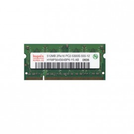 512Mo RAM PC Portable SODIMM HYNIX HYMP564S64BP6-Y5 AB DDR2 PC2-5300S 667MHz CL5