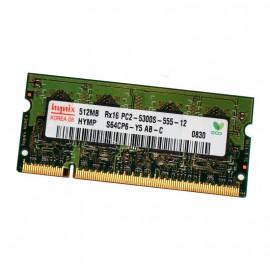 512Mo RAM PC Portable SODIMM HYNIX HYMP564S64CP6-Y5 AB-C DDR2 PC2-5300S 667MHz
