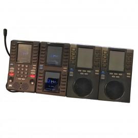 Standard Téléphonique IP IPC Nemko IQ Max 100005004 UNG-MAX-PTU-BU+2SU