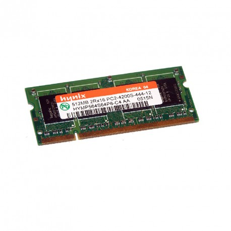 512Mo RAM PC Portable SODIMM HYNIX HYMP564S64P6-C4 AA DDR2 PC2-4200S 533MHz CL4