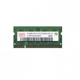 512Mo RAM PC Portable SODIMM HYNIX HYMP564S64BP6-Y5 AB-T DDR2 PC2-5300S 667MHz