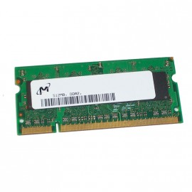 512Mo RAM PC Portable SODIMM MICRON MT4HTF6464HY-667E1 DDR2 PC2-5300S 667MHz CL5