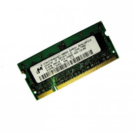 512Mo RAM PC Portable SODIMM MICRON MT8HTF6464HDY-40EB3 DDR2 PC2-3200S 400MHz