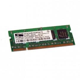 512Mo RAM PC Portable SODIMM ProMOS V916764B24QBFW-F5 DDR2 PC2-5300S 667MHz CL5
