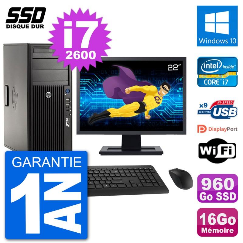 PC-Tour-HP-Z210-Ecran-22-034-Intel-i7-2600-RAM-16Go-SSD-960Go-Windows-10-Wifi