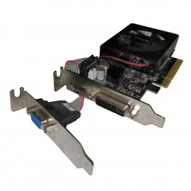 Carte PNY GeForce GT630 GMGT63WE2F1EA HDMI VGA DVI-D 1Go DDR3 PCIe Low Profile