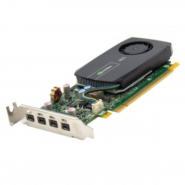 Carte NVIDIA Quadro NVS510 VCNS510ATX-T 4xMini-Display 2Go DDR3 PCIe Low Profile