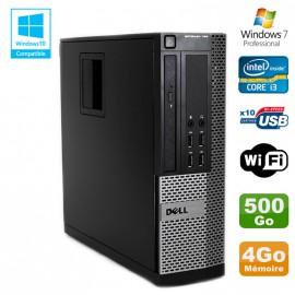 PC DELL Optiplex 790 SFF Intel core i3-2120 3.3Ghz 4Go DDR3 500Go WIFI Win 7 Pro
