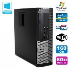 PC DELL Optiplex 790 SFF Intel core i3-2120 3.3Ghz 8Go DDR3 160Go WIFI Win 7 Pro