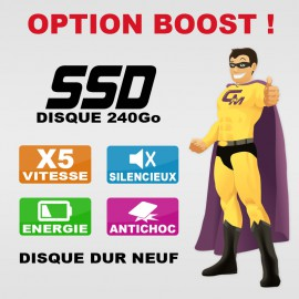 OPTION : Disque SSD 240Go