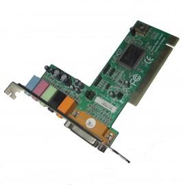 Carte Son C-Media L-8738-6C-3B Based 6 Channel PCI Audio/Micro Gameport MIDI