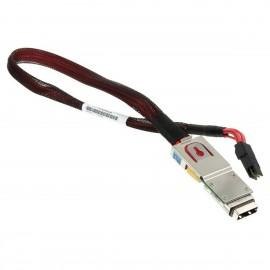 Câble Mini-SAS IBM 46K5029 L37355 74Y5883 SFF-8086 Serveur 8202 8205 52cm