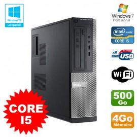 PC Dell 3010 DT Intel Core I5 3.1Ghz 4Go Disque 500 Go Graveur WIFI Win 7