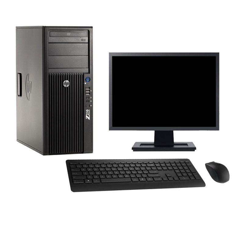 PC-Tour-HP-Z210-Ecran-22-034-Intel-i7-2600-RAM-16Go-SSD-960Go-Windows-10-Wifi miniature 2