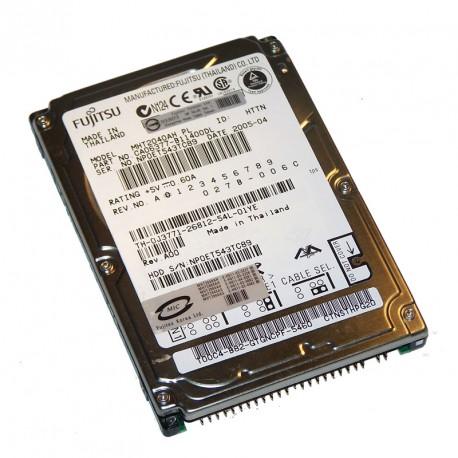 "Disque Dur 40Go IDE ATA 2.5"" Fujitsu MHT2040AH 5400RPM 4Mo Pc Portable CA06377"