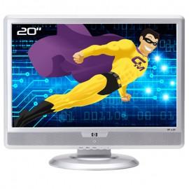 "Ecran PC 20"" HP w20 HSTND-2251-T RG555AA LCD TFT VGA DVI-D VESA 16:10 WideScreen"