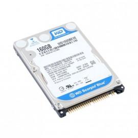 "Disque Dur 160Go IDE ATA 2.5"" Western Digital WD1600BEVE 5400RPM 8Mo Pc Portable"