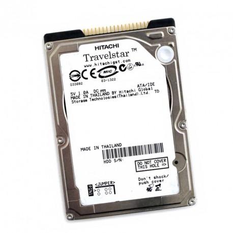 "Disque Dur 40Go IDE ATA 2.5"" Hitachi HTS541040G9AT00 5400RPM 8Mo Pc Portable"
