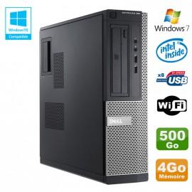 PC DELL Optiplex 390 DT G2020 DVD Ram 4Go DDR3 Disque 500Go Wifi HDMI Win 7