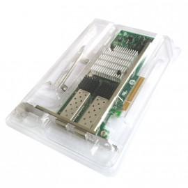 Carte Réseau Intel 10 Gigabit AF DA Dual Port SFP+ E10G42AFDA PCIe Neuve