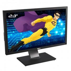 """Ecran PC Pro 23"""" DELL U2311Hb 0HV8XP HV8XP TFT IPS VGA DVI-D Display 4x USB 16:9"""