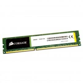 2Go RAM CORSAIR CMV4GX3M2A1333C9 DIMM DDR3 PC3-10600U 1333Mhz 240-Pin 1.5v CL9