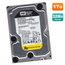 """Disque Dur 1To SATA 3.5"""" WD RE3 WD1002FBYS-70A6B0 HP 397377-024 507515-002 32Mo"""