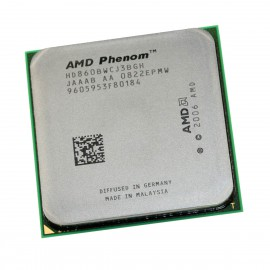 Processeur AMD Phenom X3 8600B 2.3GHz HD860BWCJ3BGH Socket AM2+ AM2 CPU 2Mo