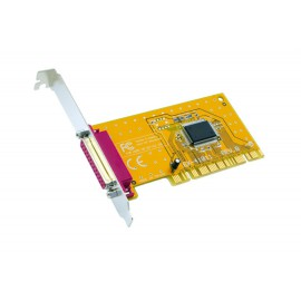 Carte Adaptateur Pci Port Parallèle DB25 Imprimante EX-41011 EXSYS 2Mo IEEE1284